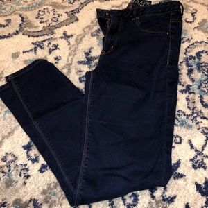 AEO Sky High Jegging 8 Deep Indigo
